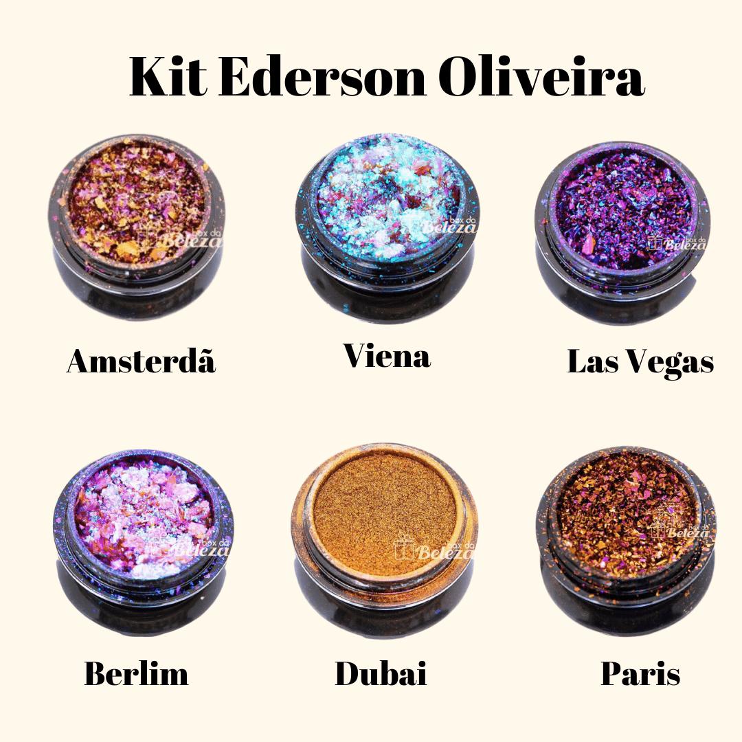 Kit Ederson Oliveira - Compre 5 e leve 6 - Dubai, Viena, Berlim, Ibiza, Amsterdã, Paris