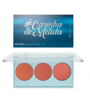 PALETA DE BLUSH #CARINHADEMETIDA - BOCA ROSA BEAUTY - PAYOT