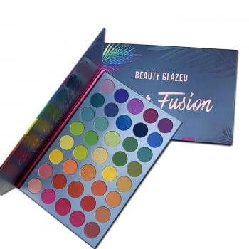 PALETA DE SOMBRA - COLOR FUSION - BEAUTY GLAZED
