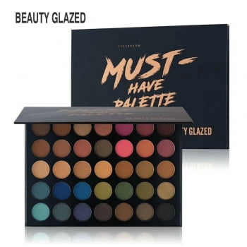 PALETA DE SOMBRA - MUST HAVE PALETTE - BEAUTY GLAZED
