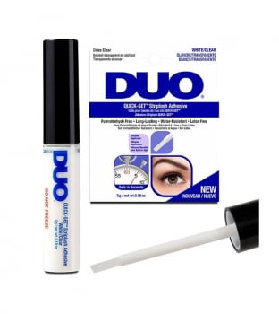 COLA DUO QUICK SET STRIPLASH - COLA PARA CÍLIOS POSTIÇOS - BRANCA