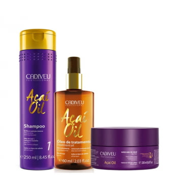 KIT AÇAI OIL HOME CARE - CADIVEU