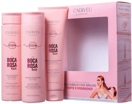 KIT BOCA ROSA HAIR - CADIVEU