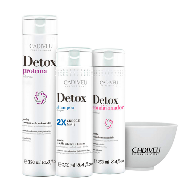 KIT DETOX HOME CARE - CADIVEU