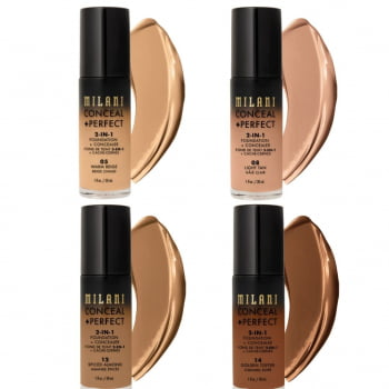 BASE CONCEAL PERFECT 2 EM 1 - MILANI
